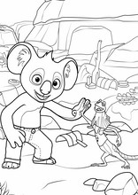 Blinky Bill. Billy il koala14