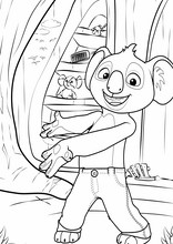 Blinky Bill. Billy il koala16
