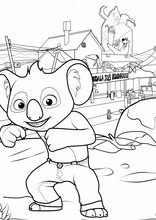 Blinky Bill. Billy il koala7