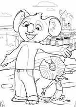 Blinky Bill. Billy il koala9