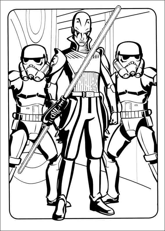 Disegni Da Colorare Star Wars Rebels.Star Wars Rebels Da Colorare 11